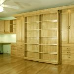 Murphy Bed Office Makeover - Guest Bed Solution - SmartSpaces.com - Hidden Bed