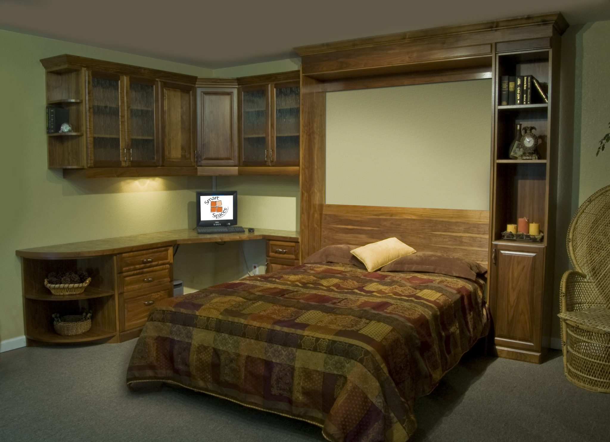 Custom Home Offices Smart Spaces Murphy Bed Wall Bed Superstore Denver Colorado Space Solutions