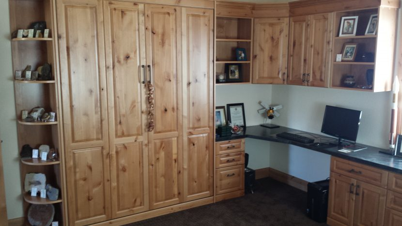 Murphy Bed Home Office Makeover in Denver, Smart Spaces Best Murphy Bed Store