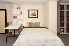Murphy Beds In Home Libraries and Bookcases