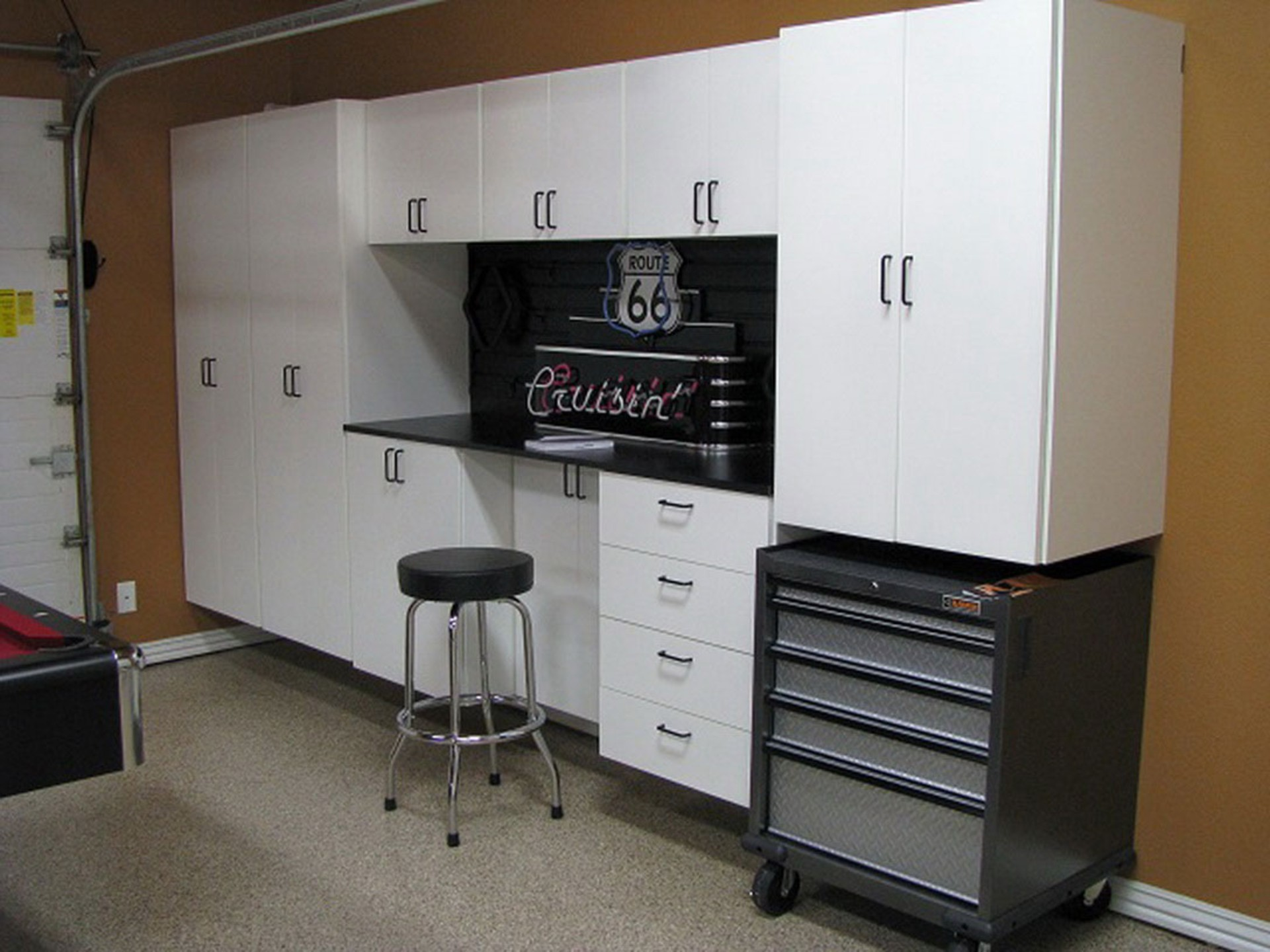 Custom Cabinets In Garage, For Extra Storage. SmartSpaces.com U2013  SmartSpaces.com
