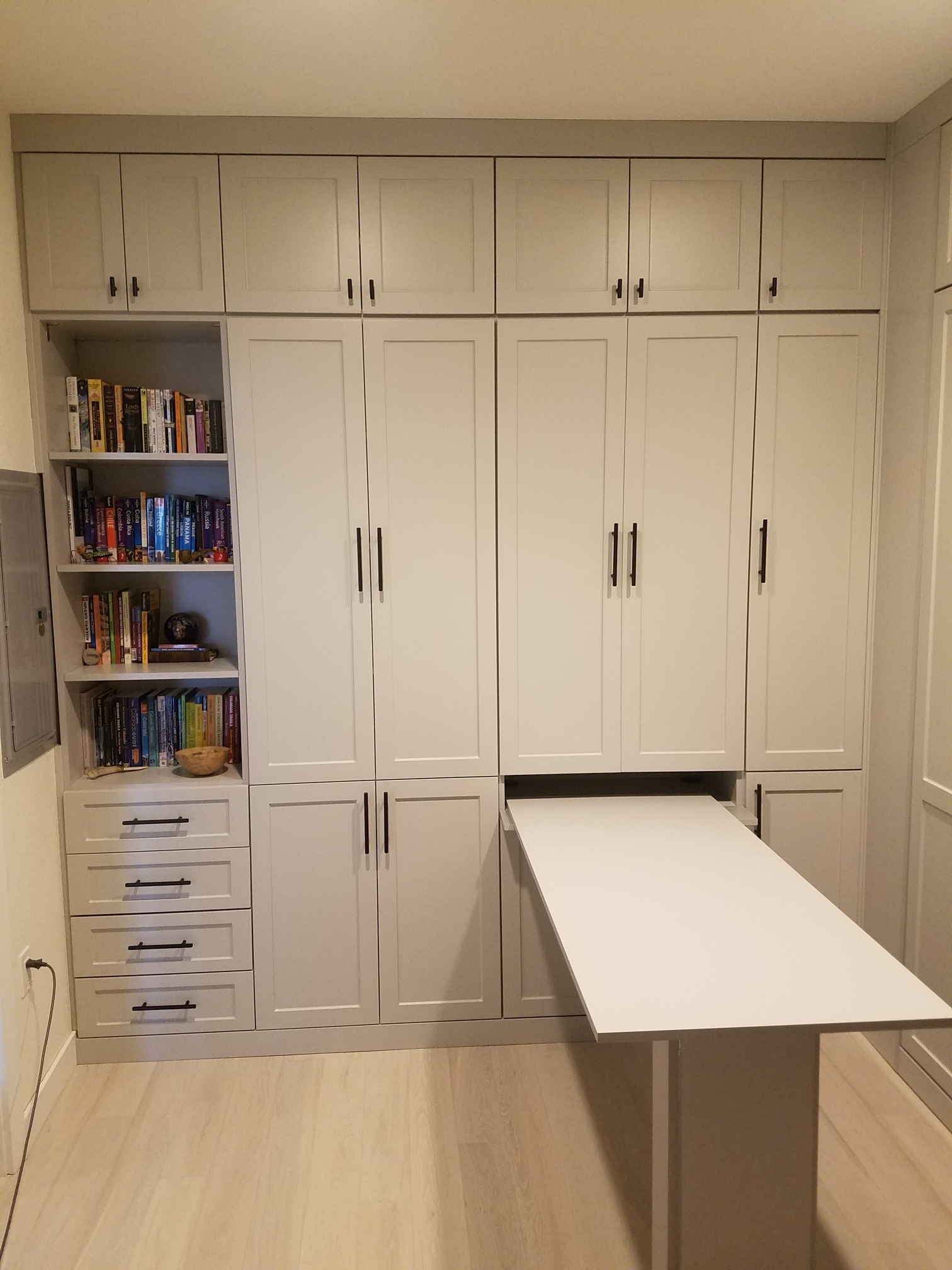 Murphy Beds In Craft Rooms Smart Spaces Murphy Bed Wall Bed