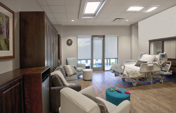 Smart Spaces Installs Custom Murphy Beds in Hospitals